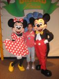 No limit how many times you see Mickey and Minnie