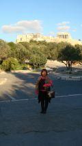 Acropolis in Athens Greece Dec '08