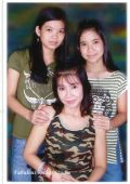 Nhez with her two Lovely Daughters