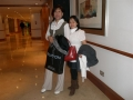 London, Hilton. Gloria & Eva