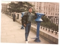 my picture near at king palace in  madrid