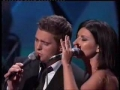 Michael Buble and Laura Pausini