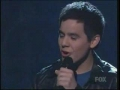 David Archuleta  sings Imagine