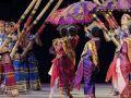 Tinikling folk dance