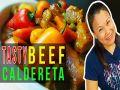 Tasty Beef Caldereta